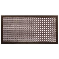 Экран для радиатора Сусанна 120х60 см, цвет венге