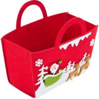 Сумочка для подарков «Дед Мороз»