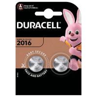 Батарейка литиевая Duracell CR2016, 2 шт.