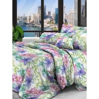 Комплект постельного белья двуспальный Текстильная лавка Аврора , микрофибра