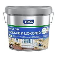 Краска для фасадов и цоколей Текс Профи 4.5 л база A