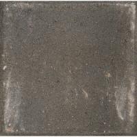 Плитка тротуарная вибропрессованная, 300x300x60 мм, цвет чёрный