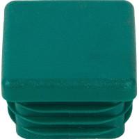 Заглушка профиля Walraven 30x30 мм, цвет зеленый 6566002