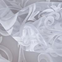 Тюль «Завиток» 1 п/м 280 см цвет белый