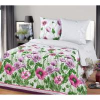 Комплект постельного белья MILANIKA Пробуждение двуспальный, бязь, 70x70 см