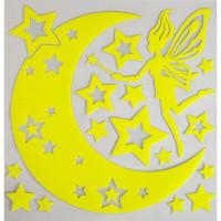 Наклейка светящаяся «Звездная фея» RDA8303