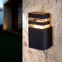 """Настенный светильник уличный Elektrostandard """"34;Techno """"34; 1450, 1xE27x60 Вт, цвет чёрный"""