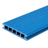 Террасная доска ДПК MultiDeck цвет лазурь 3000х150х27 мм 0.45 м²