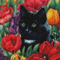 Алмазная мозаика Белоснежка Среди тюльпанов 381-ST-S