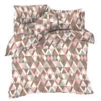 Комплект постельного белья полутораспальный Текстильная лавка Геометрия, бязь