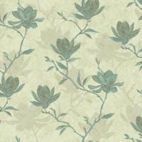 Обои бумажные Ashford House Botanical Fantasy зелёные 0.70 м WB5452