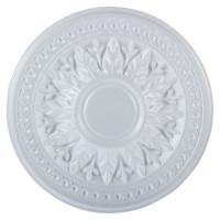 Розетка потолочная полистирол белая Формат 280Б 28 см