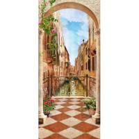 Декоративное панно Твоя планета Взгляд на Венецию 238х106 см