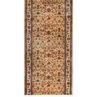 Дорожка ковровая «Супер Акварель 99124 55» полипропилен 1.2 м цвет бежевый