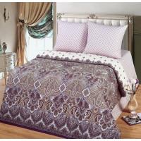 Комплект постельного белья MILANIKA Империя полутораспальный, поплин
