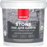 Лак по камню Neomid Stone 5 л прозрачный