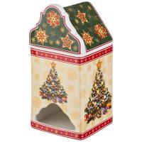 """Банка Для Чайных Пакетиков """"34;Christmas Collection """"34; Елочка 9*9 См. Высота=18 См. Lefard"""