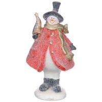Декоративная фигурка Lefard Снеговик 100-826