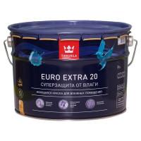 Краска Tikkurila Euro-20 цвет белый 9 л