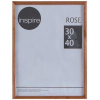 Рамка Inspire Rose 30х40 см дерево цвет коричневый