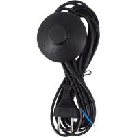 Шнур сетевой с ножным выключателем, цвет чёрный, 3.5 м