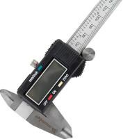 Штангенциркуль цифровой Matrix, 150 мм, точность до 0,02 мм