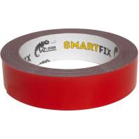 Лента клейкая двусторонняя всепогодная W-Con Smartfix 25 мм х 1.5 м цвет серый