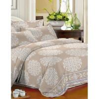 Комплект постельного белья двуспальный Текстильная лавка Ажурный узор , микрофибра