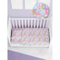 Комплект постельного белья в кроватку ТК Русский дом Аисты КПБд/262.664-1