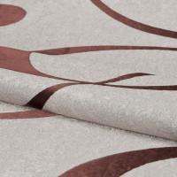 Ткань «Абстракция» 1 п/м 280 см блэкаут цвет бежевый