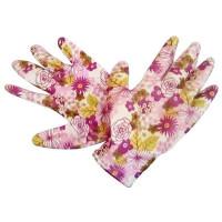 Перчатки садовые GARDEN FLOWERS GF-PN-08L размер L