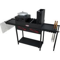 Мангал Firewood Thermos 35x114x165 см