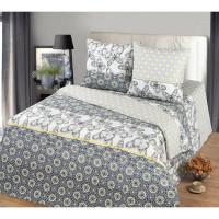 Комплект постельного белья MILANIKA Герда двуспальный, бязь, 70x70 см