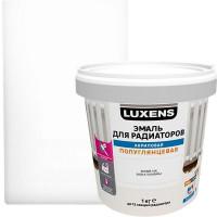 Эмаль для радиаторов Luxens цвет белый 1 кг