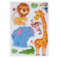 Наклейка 3D «Животные» POA 1017