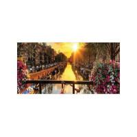 """Корзина для хранения """"34;Рассвет на цветущем мосту """"34; 35x50 см"""