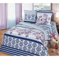 Комплект постельного белья MILANIKA Флер двуспальный, бязь, 70x70 см