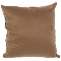 Подушка декоративная 40х40 см цвет капучино