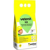 Шпаклёвка полимерная финишная Weber Vetonit KR, 5 кг