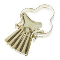 Зажим для колец для тяжелых штор металл цвет золото 10 шт.