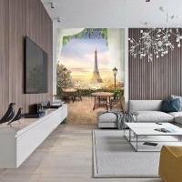 Фотообои Твоя планета Премиум Французский пейзаж 194х272 см
