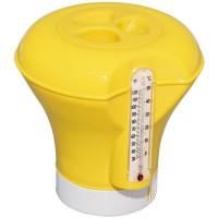 Дозатор плавающий с термометром, в ассортименте