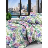 Комплект постельного белья семейный Текстильная лавка Аврора , микрофибра
