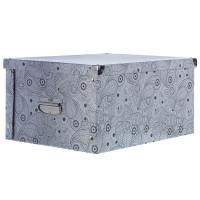 Коробка картон 45x35x22.5 см, узор