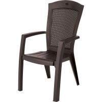 Кресло садовое Keter Minnesota 65х65х99 см пластик коричневый