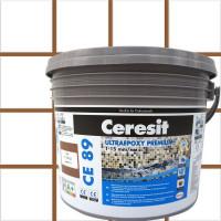 Затирка эпоксидная Ceresit CE89 цвет коричневый 2.5 кг