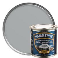 Краска гладкая Hammerite цвет серебристый 0.25 л