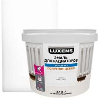 Эмаль для радиаторов Luxens цвет белый 2.7 кг