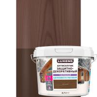 Антисептик Luxens гибридный цвет орех 2.7л
