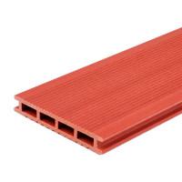 Террасная доска ДПК MultiDeck цвет бордо 3000х140х22 мм 0.42 м²